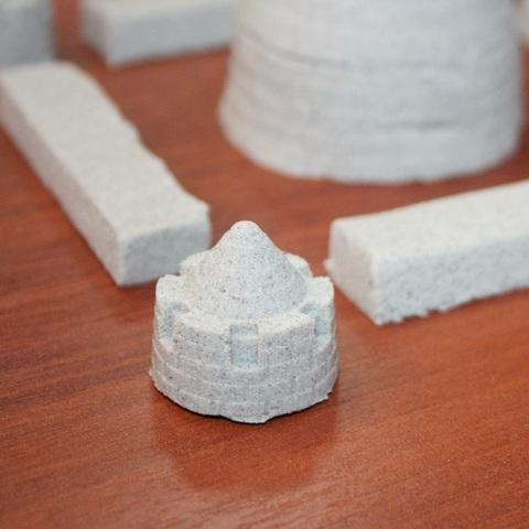 Трогательный песок ЛЕПА Базовый, в картонной упаковке 1кг