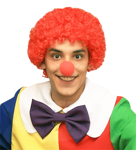 Парик Клоуна огненно-рыжий
