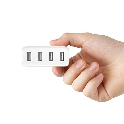 Сетевая зарядка Xiaomi 4 USB