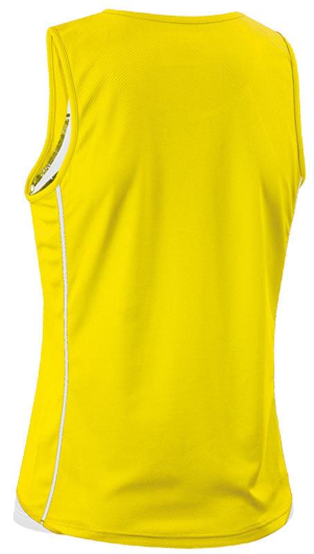 Женская легкоатлетическая майка асикс Singlet Usain yellow (T237Z6 QV01)
