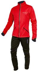 Утеплённый лыжный костюм Nordski Premium Red-black мужской