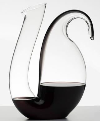 Декантеры Декантер для вина 1700 мл Riedel черный Decanter_Ayam_2016_black.png