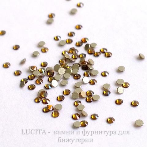 2058 Стразы Сваровски холодной фиксации Crystal Copper ss 5 (1,8-1,9 мм), 20 штук (WP_20140814_14_08_53_Pro)