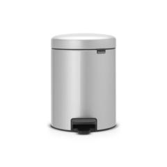 Ведро для мусора Brabantia NewIcon серый металлик 5л