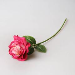 Роза 35 см малиновая, 1801