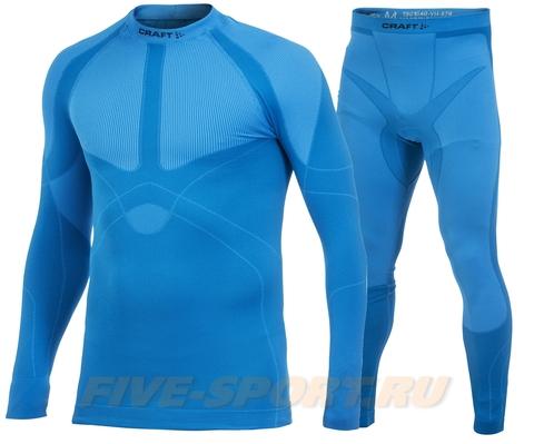 Комплект термобелья Craft Warm Blue мужской