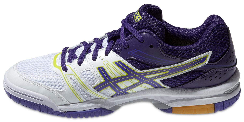 Женские кроссовки для волейбола Асикс Gel-Rocket 7 фиолетовые фото