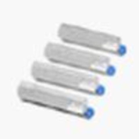 OKI C8600/C8800 тонер картридж magenta (малиновый) (43487710, 43487722)