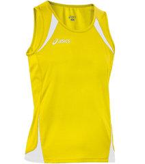 Женская легкоатлетическая майка Asics Singlet Usain yellow (T237Z6 QV01)