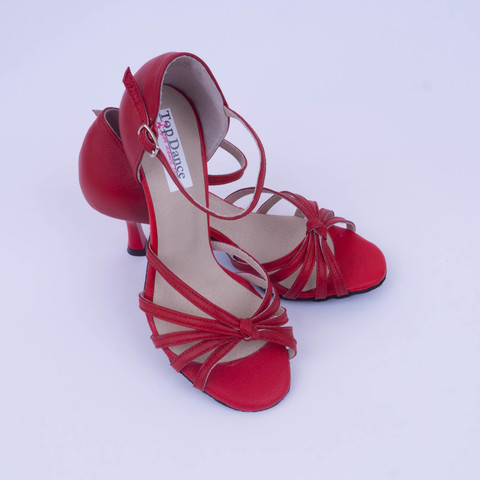 Туфли для танцев арт.La01red6