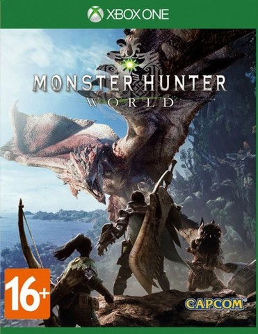 Microsoft Xbox One Monster Hunter: World (русские субтитры)