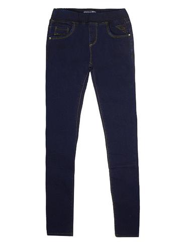 T087 джинсы подростковые, синие