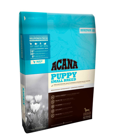 Acana Heritage Puppy Small Breed сухой корм для щенков мелких пород  2 кг