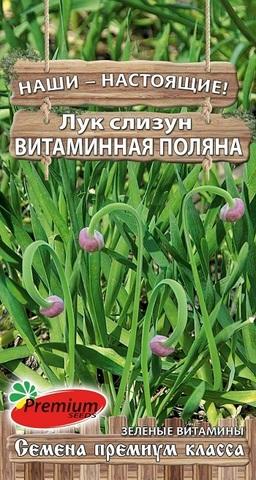 Семена Лук слизун  Витаминная поляна