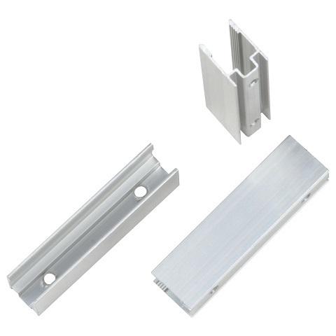 Алюминиевый мини профиль для монтажа гибкого неона 8х16 мм. Комплект 25 штук.