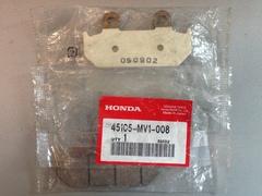 Тормозные колодки 45105-MV1-008 мотоцикла Honda CBR600F