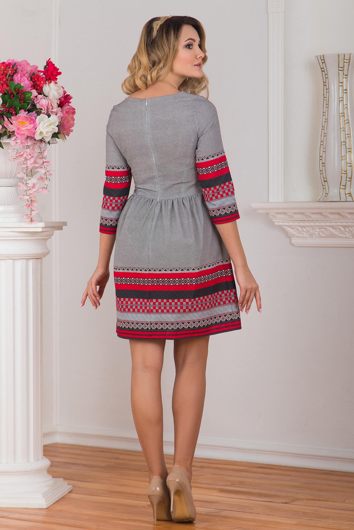 Платье Шамбала вид сзади