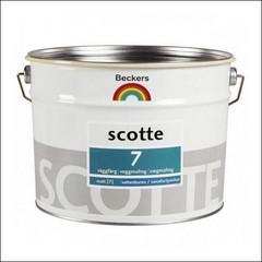Краска для стен и потолков BECKERS SCOTE 7 База С (Прозрачный)