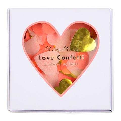 Конфетти в форме сердечек