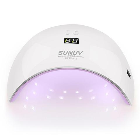 "УФ Лампа для маникюра гибрид ""SUN 9X plus"" (UV/LED) 36 ватт, 18 диодов"