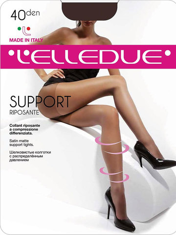 Колготки Support 40 Elledue
