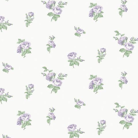 Обои Aura English Florals G34348, интернет магазин Волео