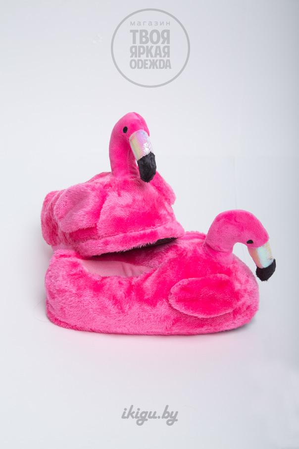 """Тапочки Тапочки """"Фламинго Розовые"""" фламинго-2.jpg"""