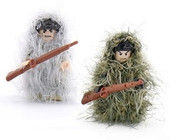 Снаряжение для минифигурок Камуфляжный костюм