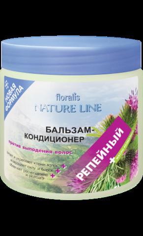 Floralis Nature Line Бальзам-кондиционер «Репейный» против выпадения волос 500г
