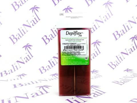 Depilflax Воск для депиляции в картридже Depilflax, 110 гр. - Лесная ягода