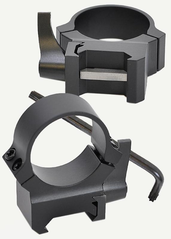 Кольца Leupold QRW2 на Weaver 25,4 мм, низкие