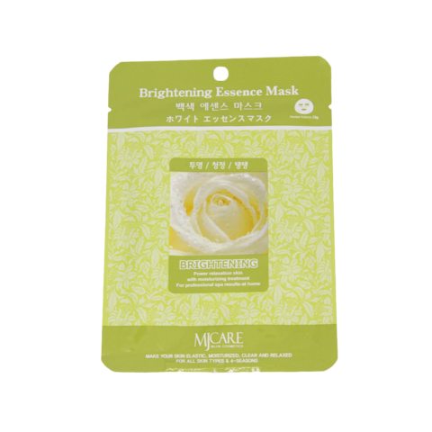 Маска тканевая осветляющая Mijin Brightening Essence Mask, 23 г