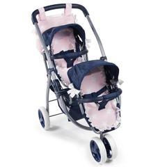 La Nina Трехколесная коляска для двух кукол серия Карлота (60421)