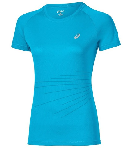 Спортивная футболка Asics LiteShow Graphic Top SS (130344 0877) женская