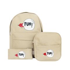 Рюкзак, сумка и кошелек Fun Beige