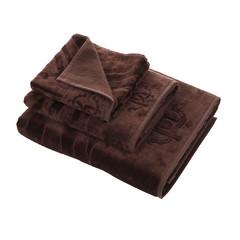 Набор полотенец 5 шт Roberto Cavalli Zebrona коричневый
