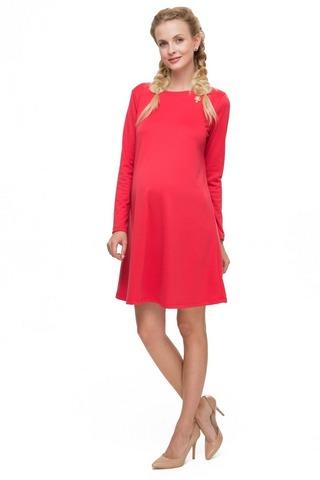 Платье для беременных 08227 коралловый
