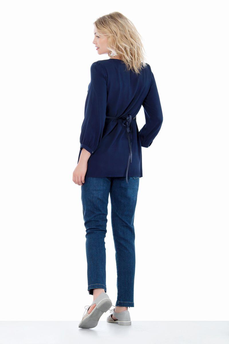 Блузка 01401 синий