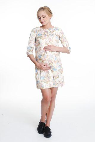 Платье 05436 бежевый