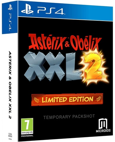 Sony PS4 Asterix and Obelix XXL2 Limited edition (английская версия)