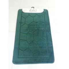Коврик для ванны Zalel 55х90 см ворс, темно-зеленый