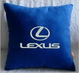Подушка автомобильная с логотипом LEXUS