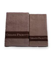 Набор полотенец 2 шт Cesare Paciotti Downtown коричневый