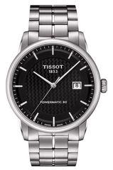 Мужские швейцарские наручные часы Tissot Luxury Powermatic T086.407.11.201.02