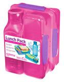 Набор Lunch: 2 контейнера и бутылка 475мл, артикул 1590, производитель - Sistema, фото 2