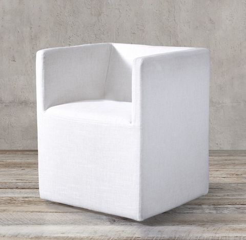 Ellison Shelter Arm Fabric Armchair