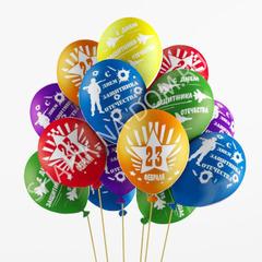 Воздушные шары Защитнику
