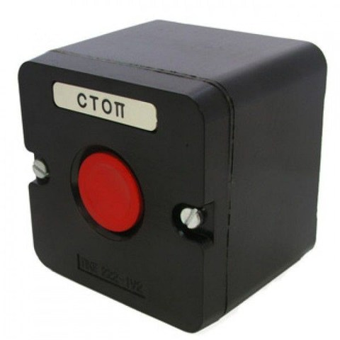 ПКЕ 222-1 красный IP54 TDM