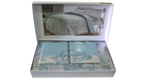 Постельное белье GALANTE бирюзовый  TIVOLYO HOME Турция