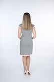 Ночная сорочка для беременных и кормящих 09557 серый
